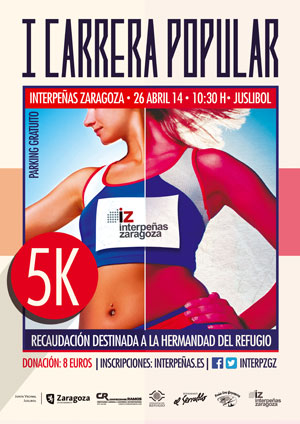 I Carrera Popular Solidaria Interpeñas Zaragoza 5K